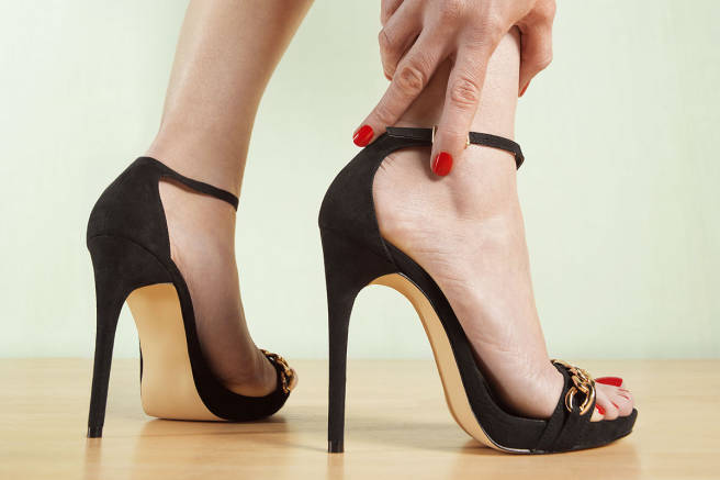 Men and High Heels Study - Men May Be More Helpful When You Wear Heels