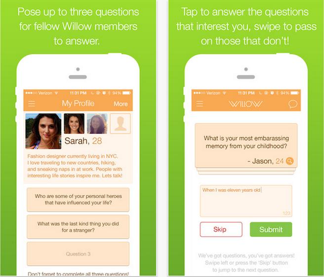Willow, la nueva aplicación de citas