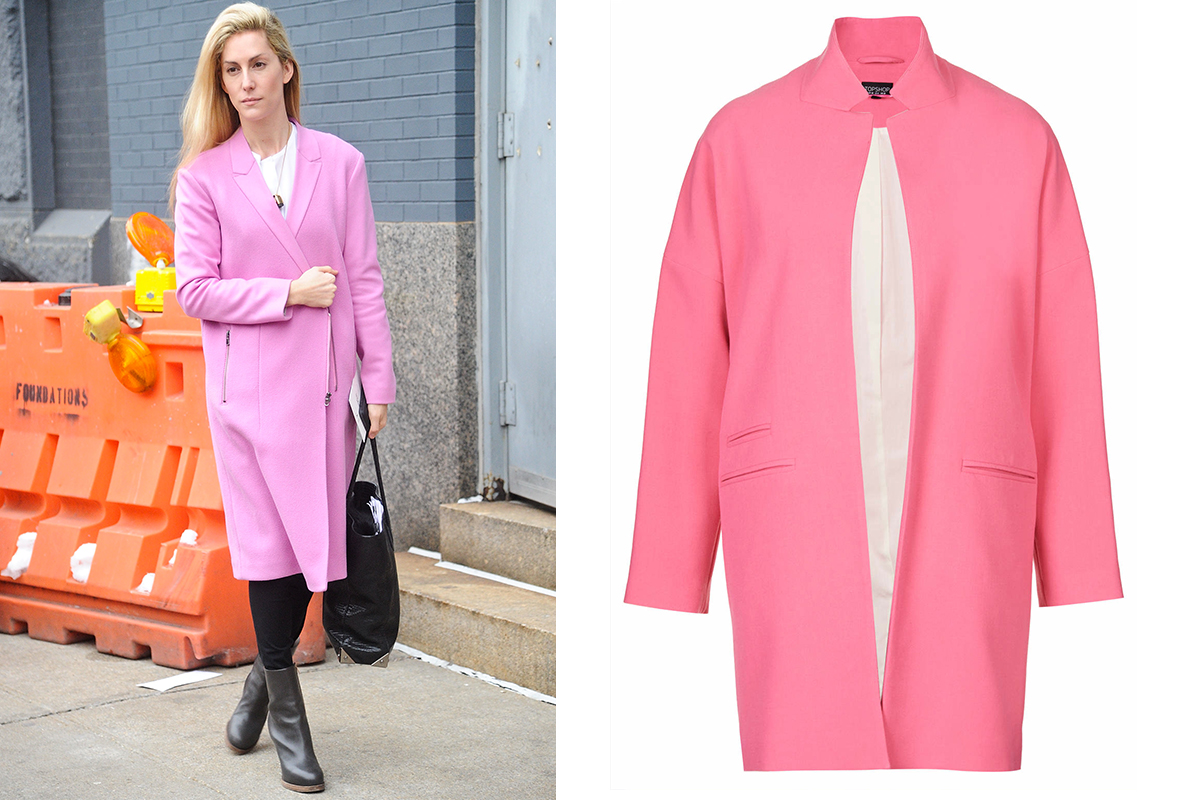 Ladies Pink Coats - Sm Coats