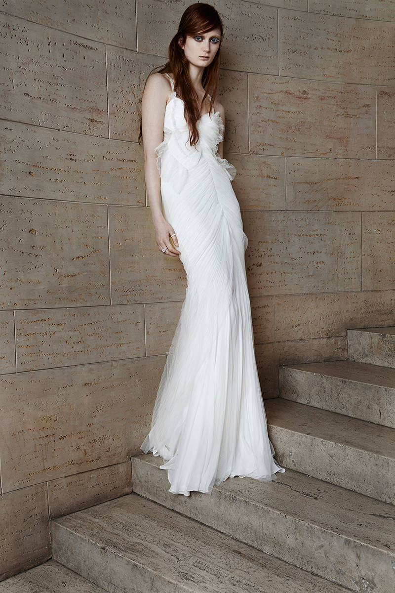 Grecian Inspired Wedding Gowns