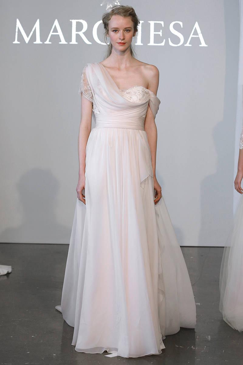 grecian inspired wedding gowns grecian gowns bridal fashion week 2015