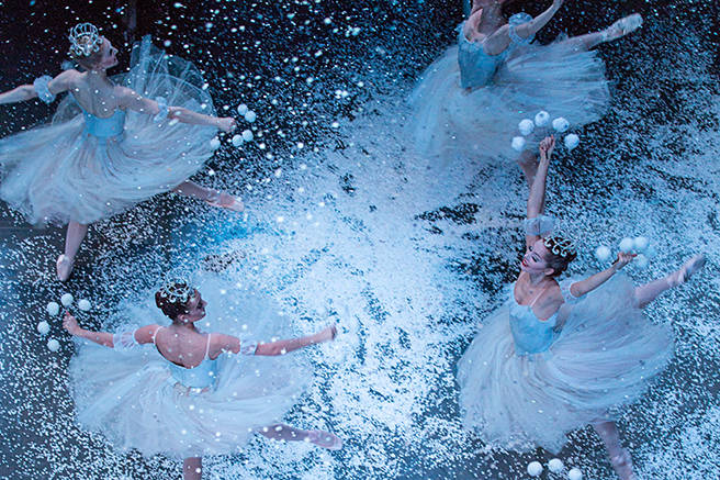 Image result for new york city ballet nutcracker snow