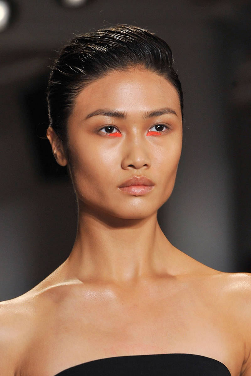 Fabulous The Top Hair And Makeup Trends From New York Fashion Week Spring Hairstyle Inspiration Daily Dogsangcom