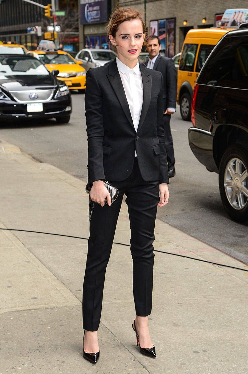 Women in Suits - Female Celebrities in Pant Suits and Tuxedos