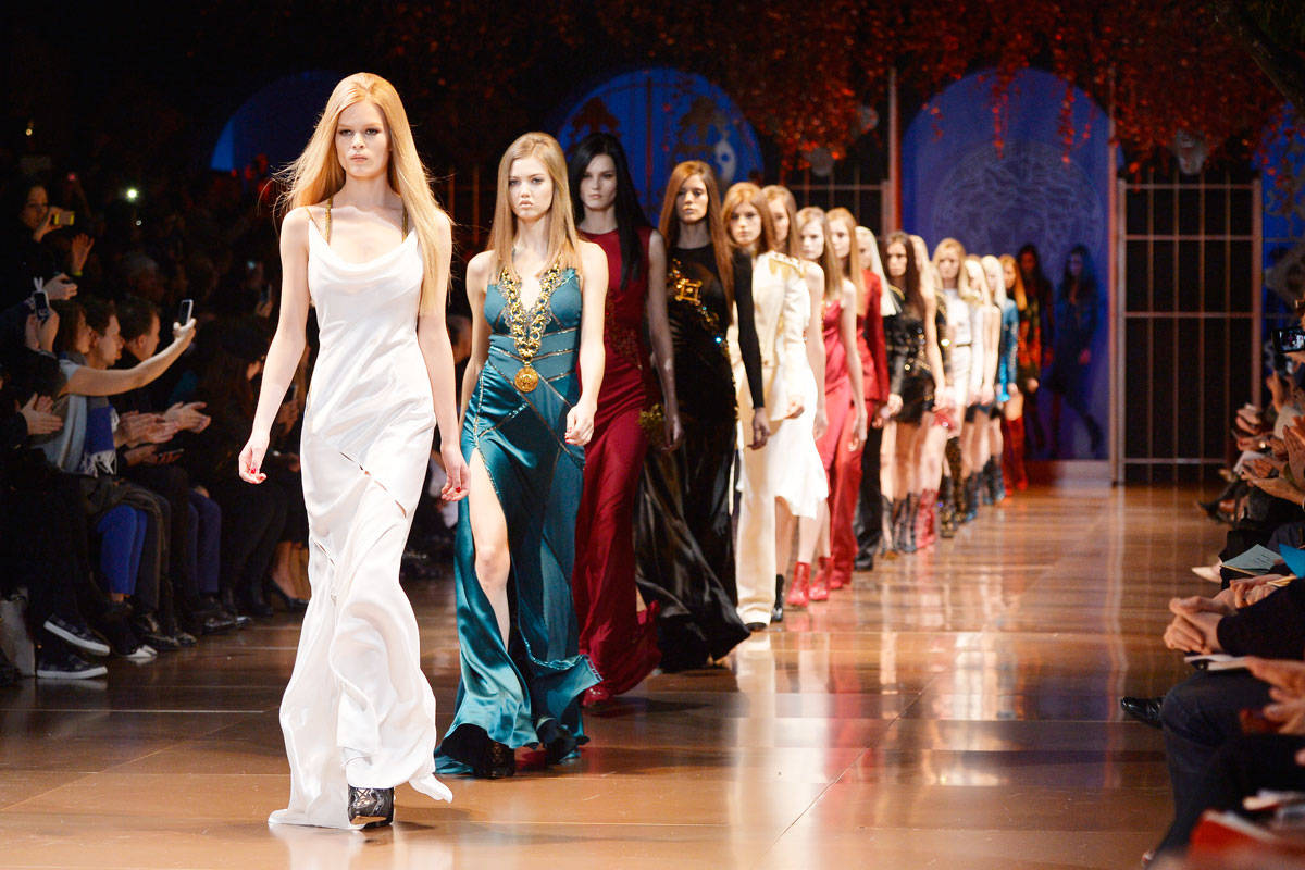 The Sexiest Dresses Of Milan Fashion Week Designer