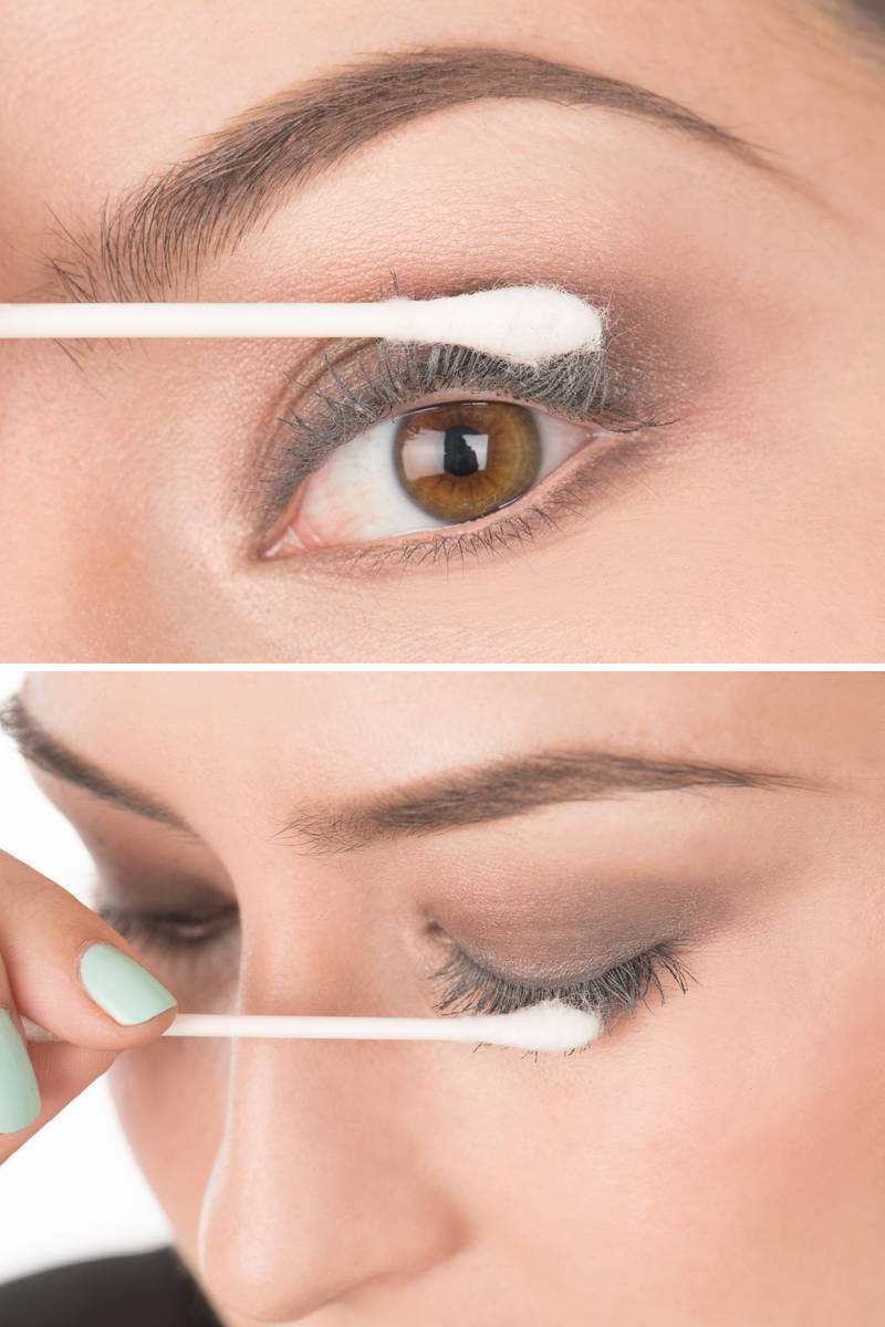 How To Get Fauxlooking Lashes Using Baby Powder  Baby Powder Mascara Trick