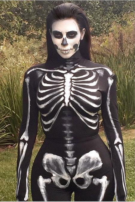 As a skeleton.