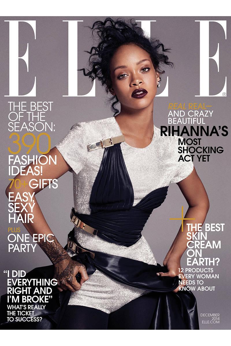 Rihanna's ELLE 2014 Cover Images