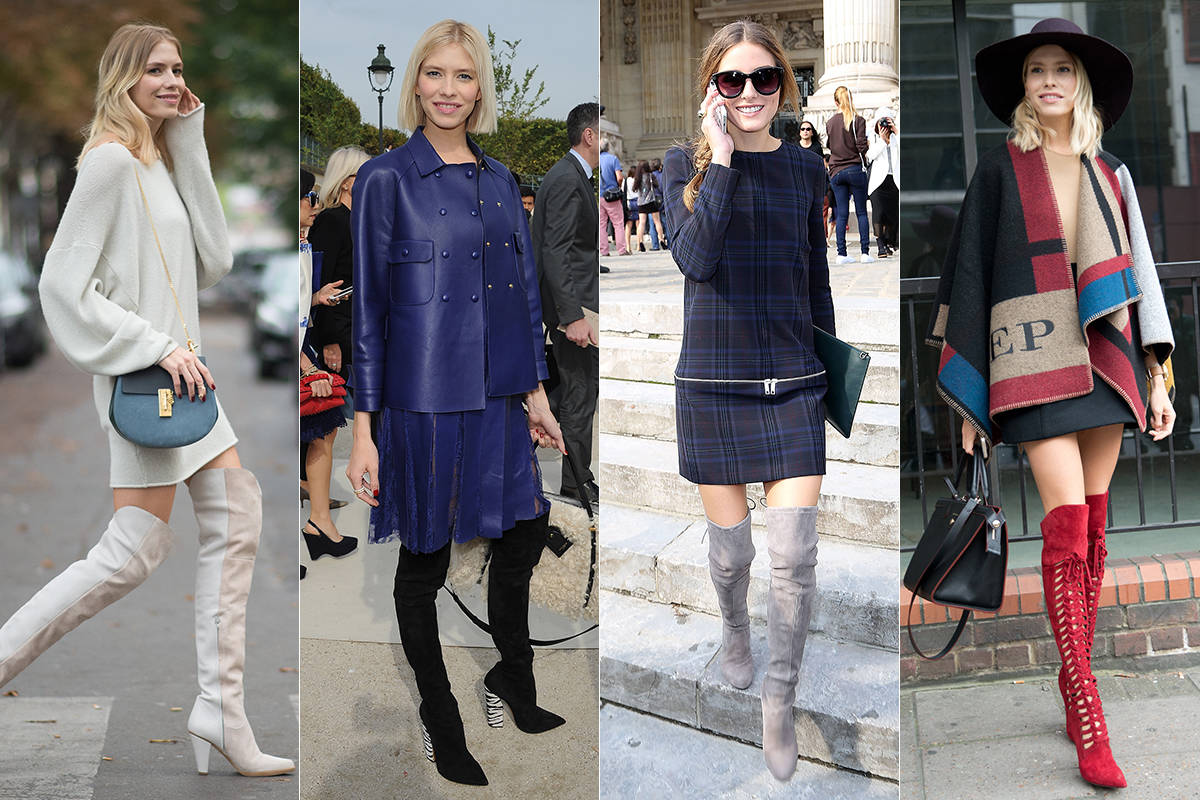 12 Must Have Over The Knee Boots - Fall Boot Guide