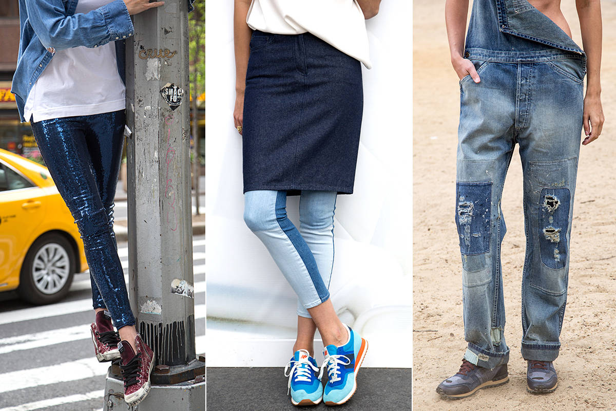 The Must Have Jeans And Sneakers - Spring Jeans And Sneakers To Shop Now
