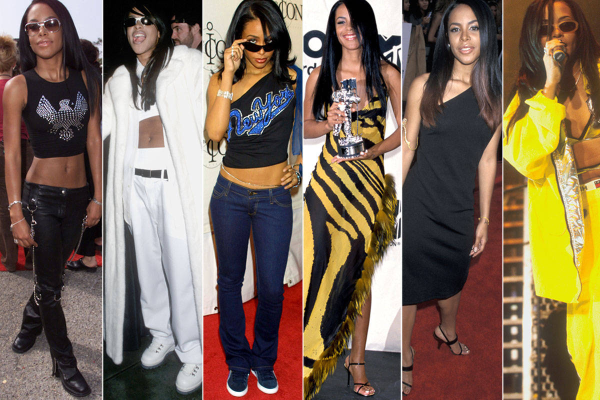 Aaliyah Inspired Outfits The Image Kid Has It