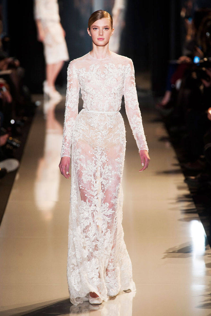 Elie saab spring 2013 couture runway elie saab haute for What is haute couture