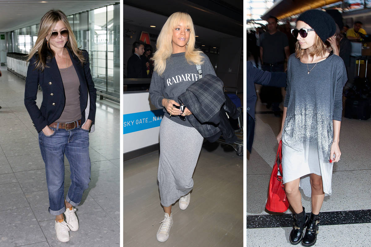 Steal Airport Style From Your Favorite Celebs Celebrity Airport Style