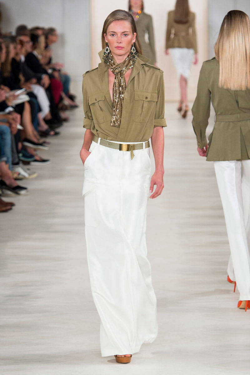 Ralph Lauren Spring 2015 Ready-to-Wear - Ralph Lauren Ready-to-Wear Collection