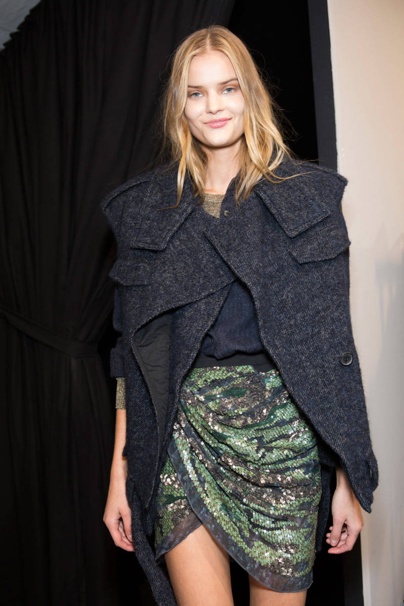Isabel Marant Fall 2014 Ready to Wear Backstage Isabel Marant Ready to Wear Collection