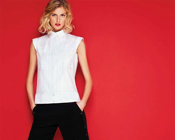 Carolina herrera debuts her new white shirt collection for Carolina herrera white shirt collection