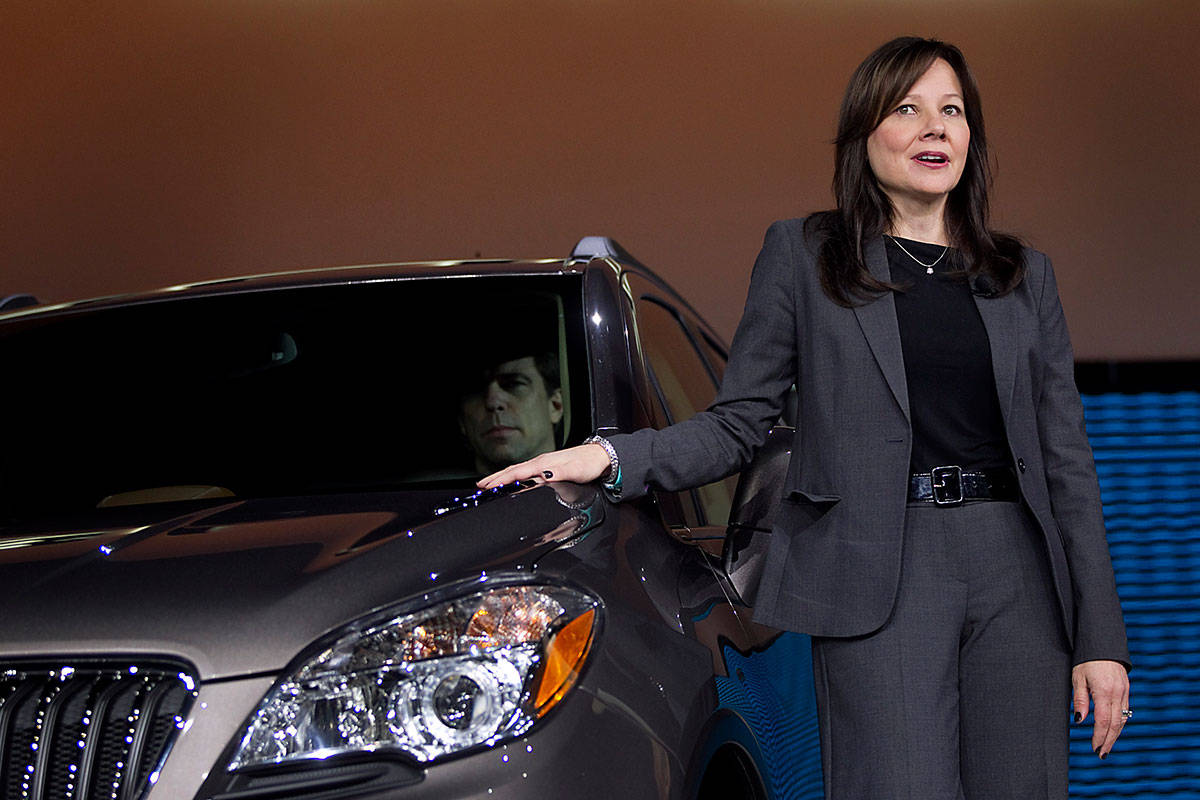 Mary Barra Named Ceo Of General Motors Women Who Break