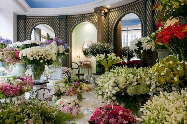Inspirational Floral Shops Worldwide Paris Flower Factor