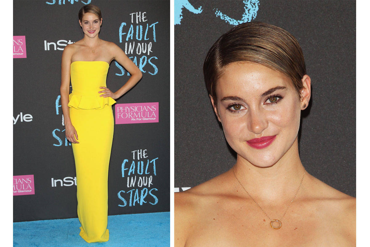 Shailene Woodley at The Fault in Our Stars Premiere ...