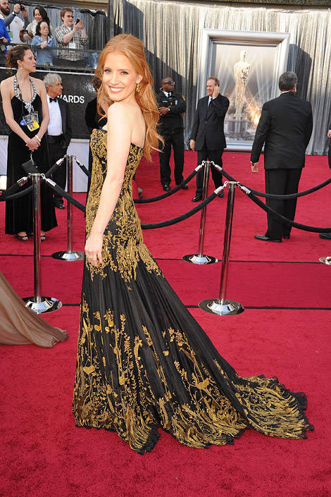 Best Red Carpet Dresses 2012 - Celebrity Red Carpet Gowns 2012