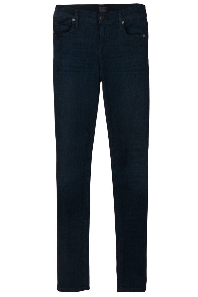 Dark Denim Jeans - Indigo Jeans for Women