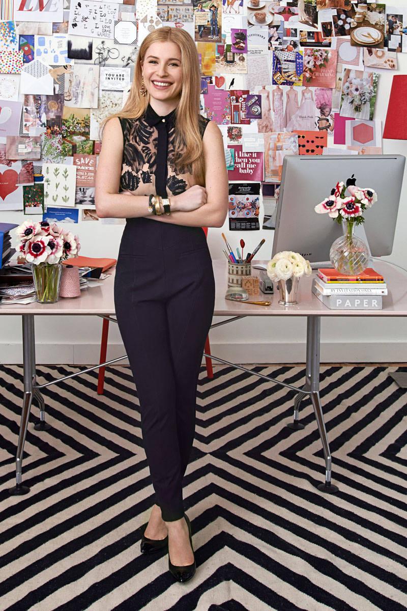 Paperless u202aPostu202c Founder Alexa Hirschfeld Fashion - Office Fashion Alexa Hirschfeld