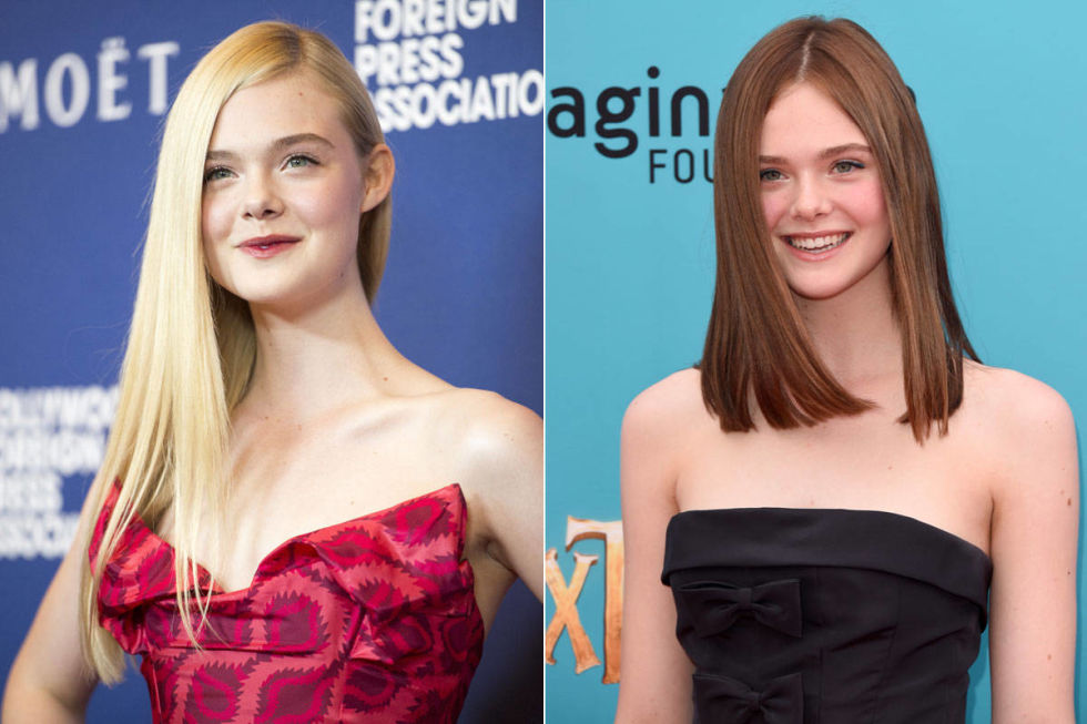 We've come to know (and love) Elle Fanning as the pale, flaxen blonde with style well beyond her years. But this year, the 16-year-old ditched her light look for an oh-so-adult auburn hue.