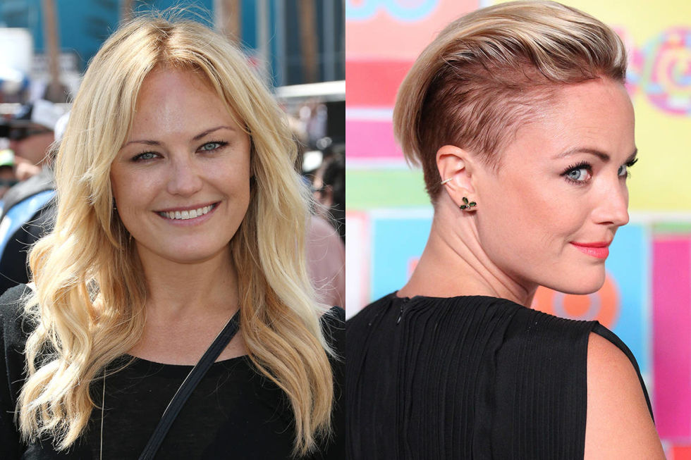 Though we saw tons of hair transformations this year, we always get excited when someone completely changes up her whole look, like when Malin Akerman went from girl next door to badass babe in a single chop.