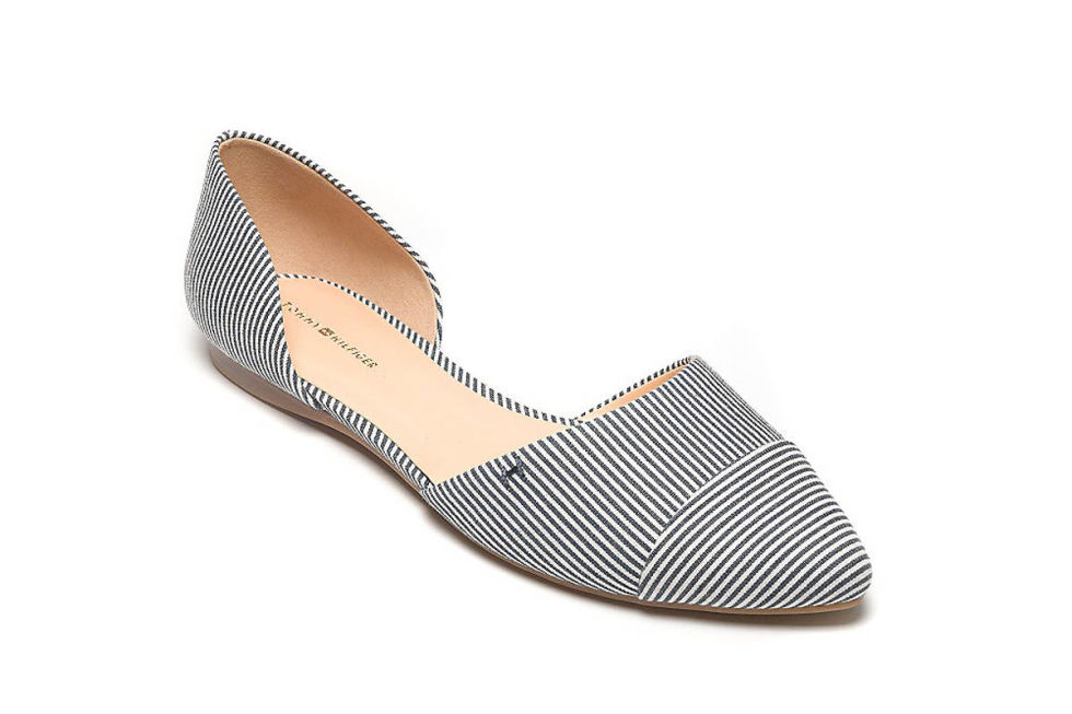 Hilfiger Shoes Brown Green Stripe