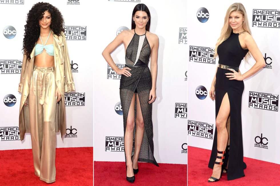 American Music Awards Red Carpet - All The Looks From the American ...