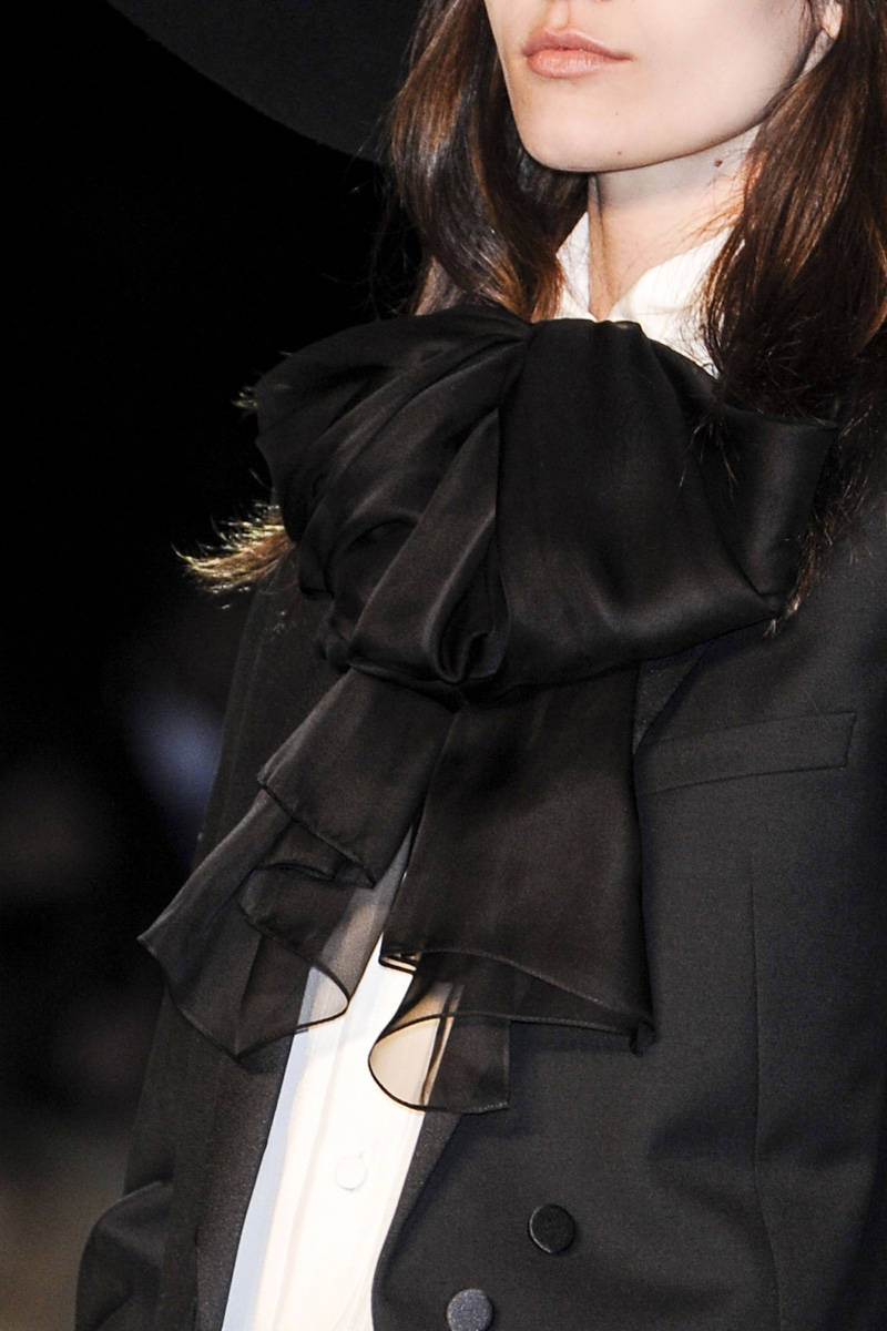 Saint Laurent Spring 2013 Ready-to-Wear Detail