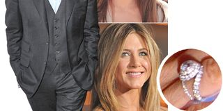 who got the better ring celebrity engagement rings - Jennifer Aniston Wedding Ring