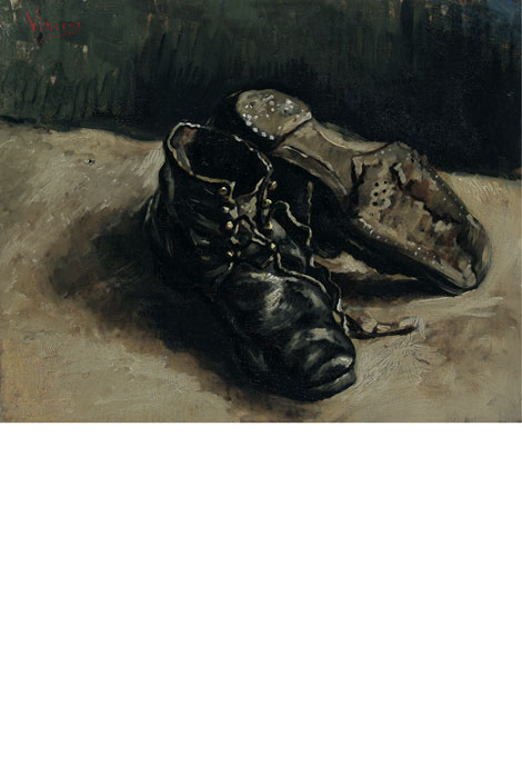 A Pair Of Shoes Vincent Van Gogh Meaning