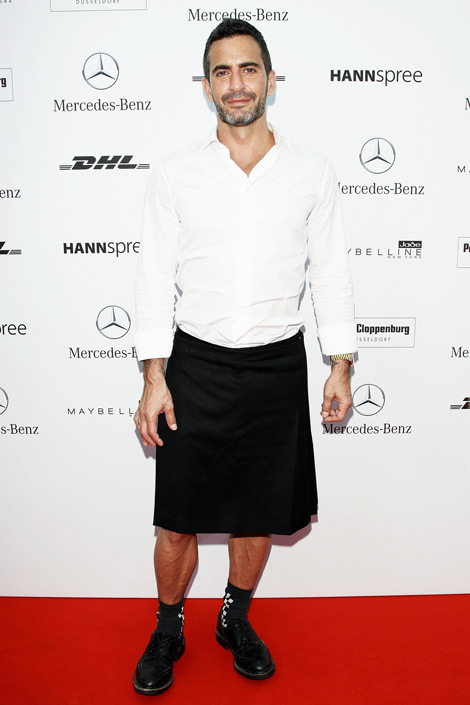 Men in Skirts: Kanye West, Marc Jacobs, and Others