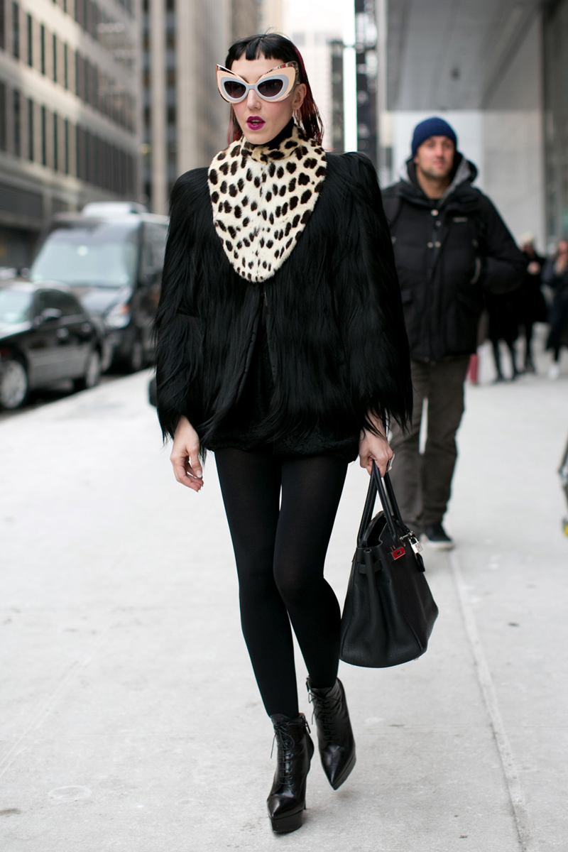 Fall Street Fashion 2013 For Girls: Street Chic: New York Fashion Week