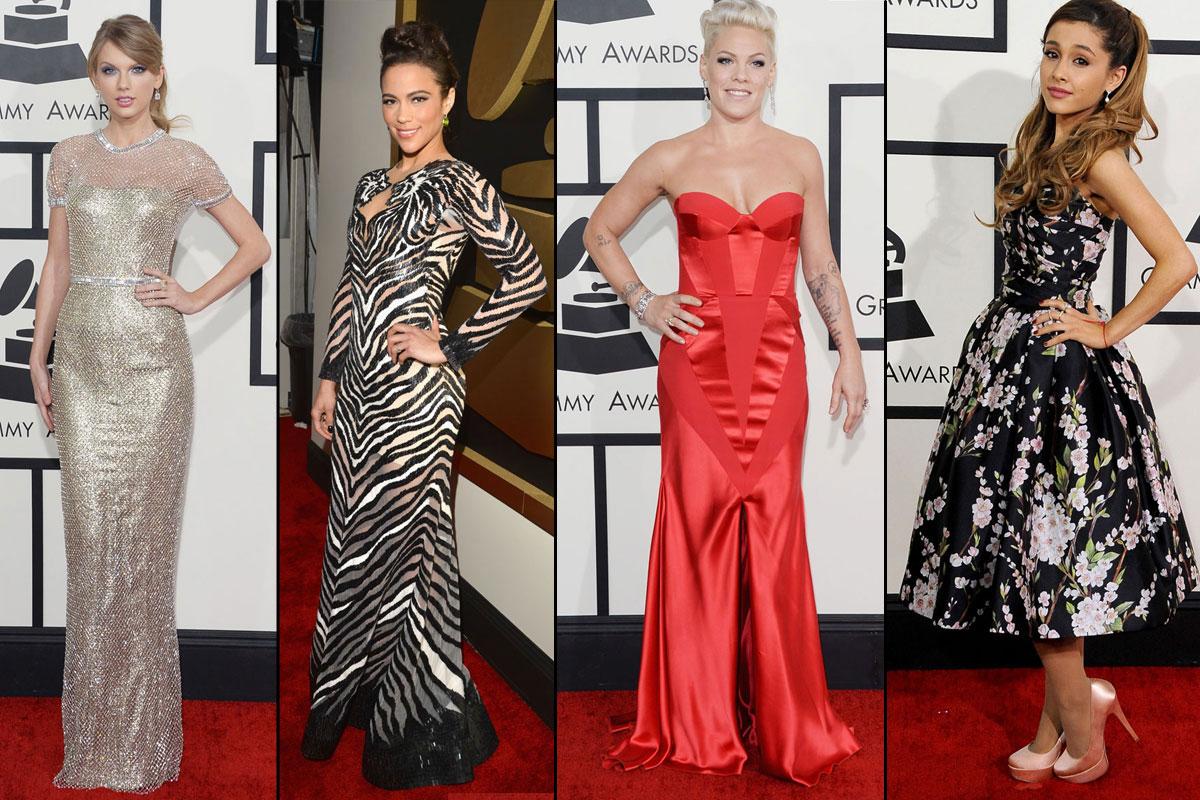 Grammys: Red Carpet Dresses Grammys 2014