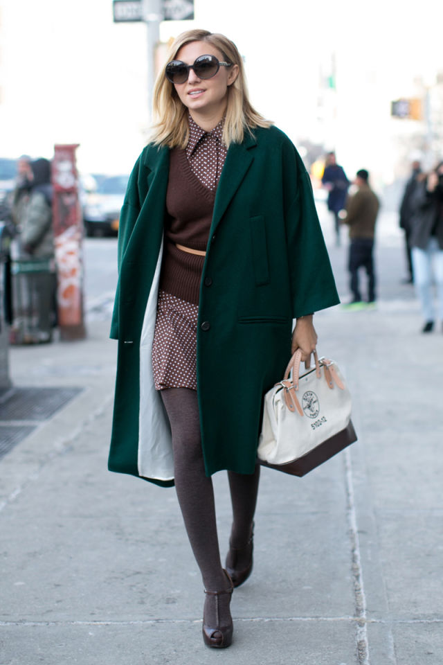 Street Chic New York Fashion Week Street Style Photos Nyfw Fall 2014