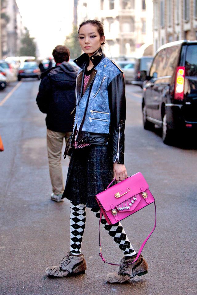 Street Style Photos Milan Fashion Week Fall 2014 Street Style Pictures Mfw