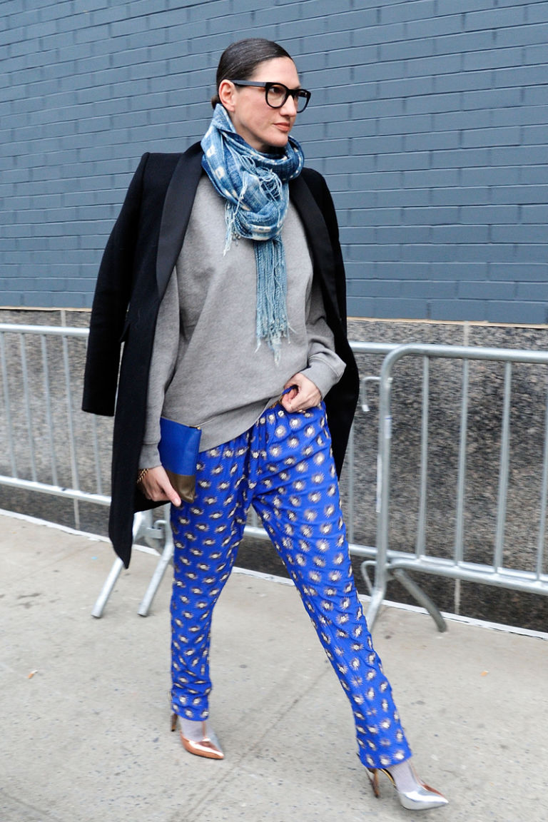 Jenna Lyon 39 S Street Style New York Fashion Week Fall 2014