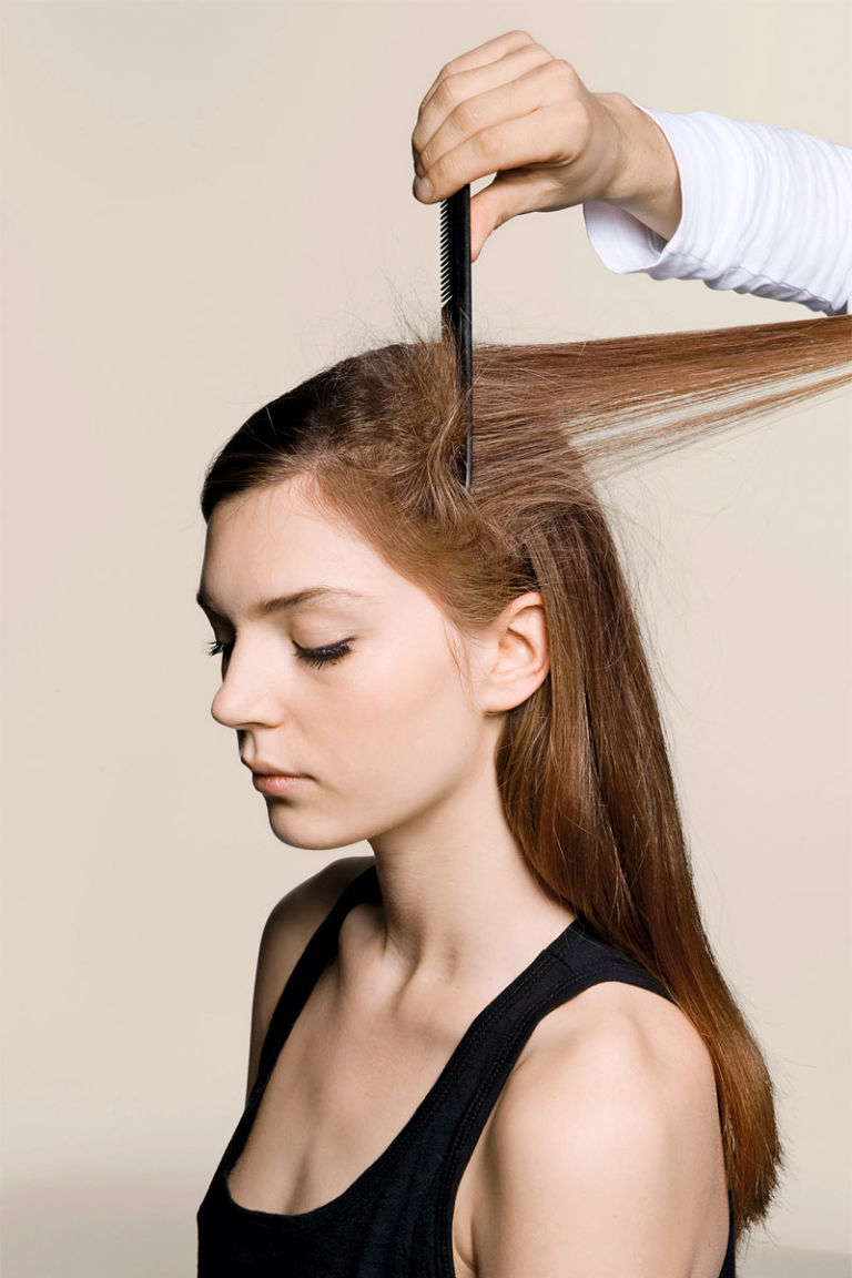 how to do a low bun for dance