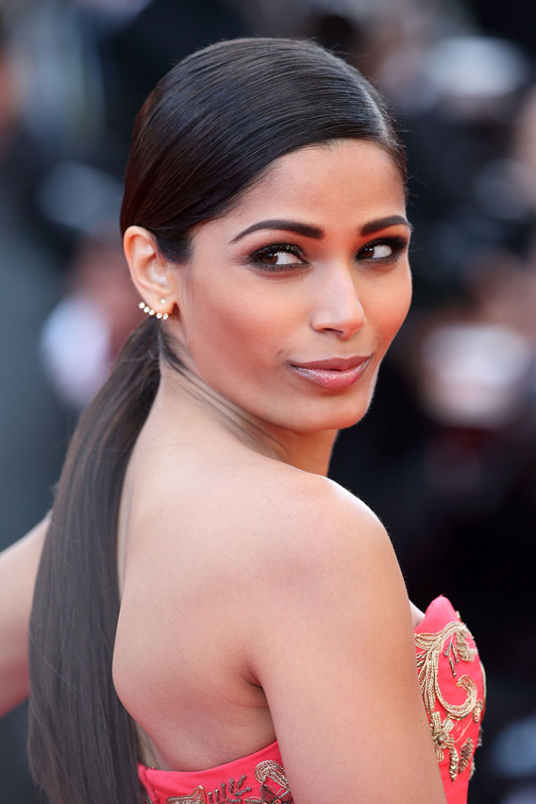 Best Beauty From the 2014 Cannes Film Festival - Best Hair ... Freida Pinto