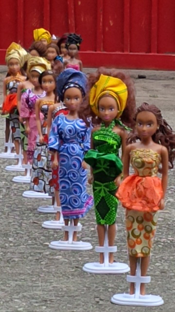 Black Doll Outsells Barbie: Nigerian Man Couldn't Find Black Dolls - Made Doll That Outsells Barbie