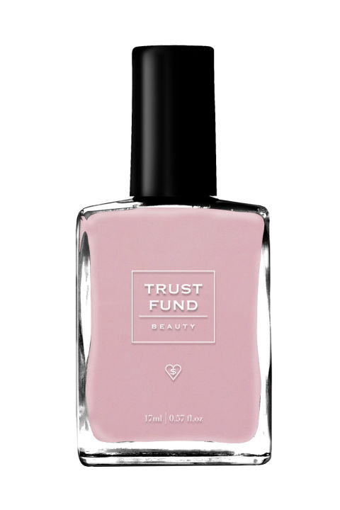 """""""I saw Khloé Kardashian wearing Trust Fund nail polish so I bought Trust Fund nail polish. As much as I might like to switch to sultry, dark nail colors in the fall, I am physically incapable of not chipping my manicure within 24 hours of painting, so I keep it light year round. I like this soft, pretty pink as a sweet contrast to my darker fall wardrobe; plus, the name makes me feel like a socialite for a day."""" -Gena Kaufman, social media manager"""
