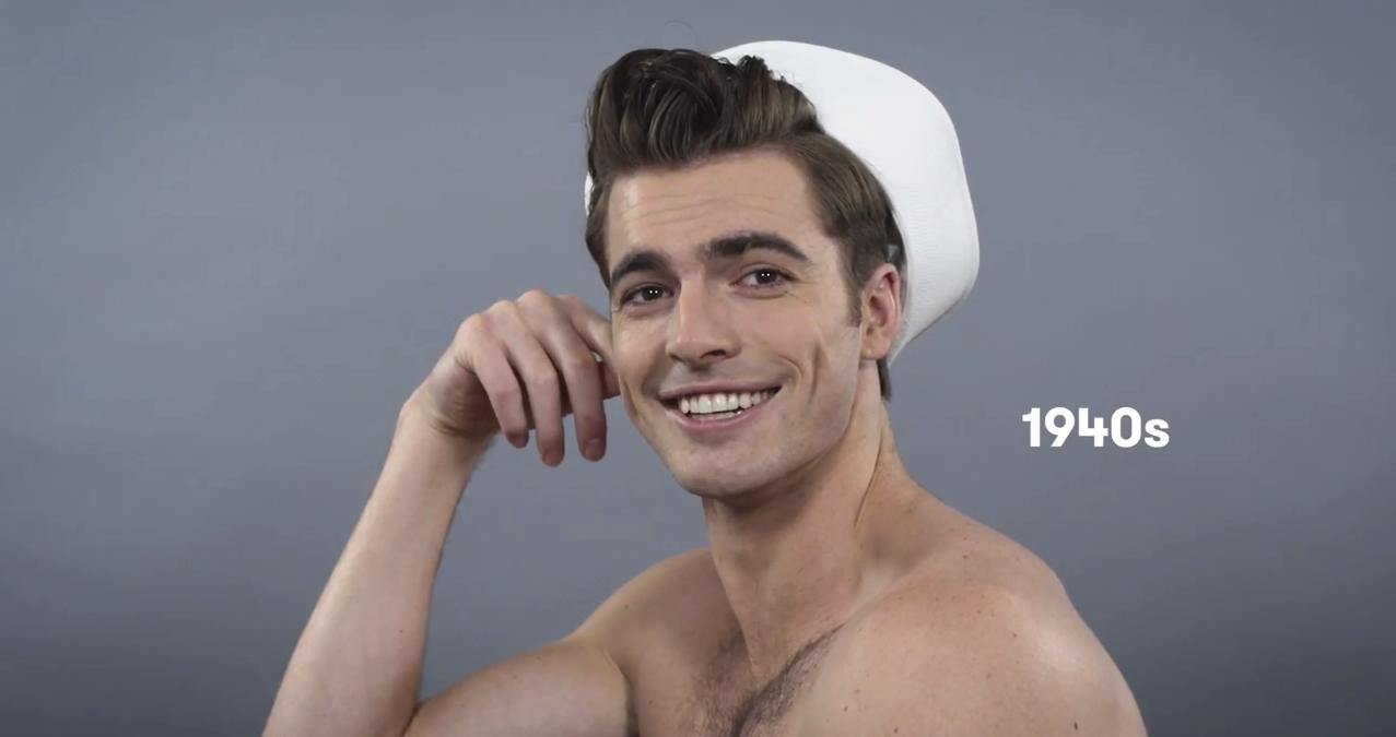 100 Years of Men's Hairstyles