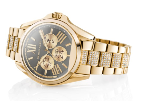 0db7ea2e2355 Michael Kors Makes a Smart Watch That Looks Just Like a Regular Watch