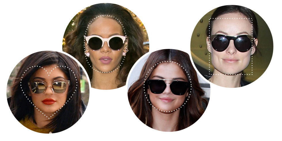239c11e3c4da Here's How to Find the Best Sunglasses for Your Face Shape - dillerimage