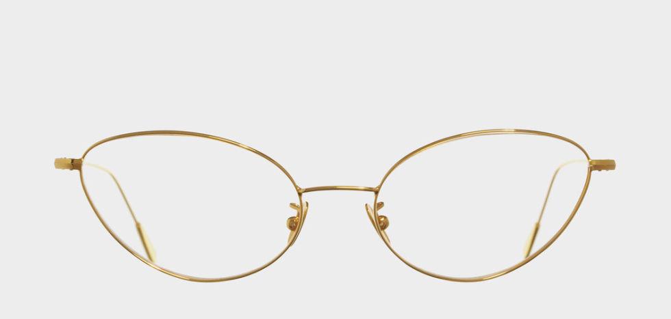 Cutler and Gross 1102 Gold Plated, $995; cutlerandgross.com