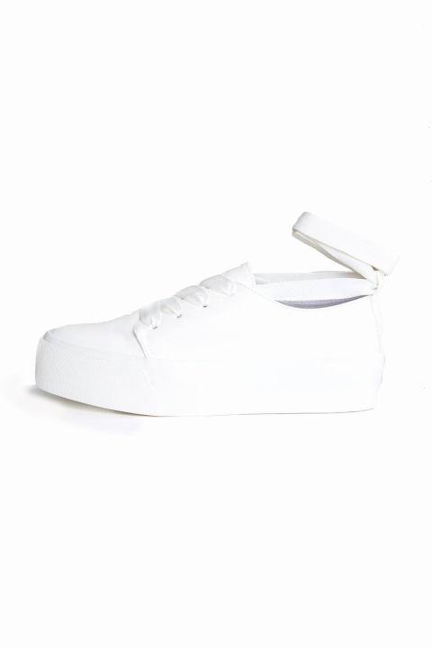 ASOS Denver Tie Leg Sneakers, $38; asos.com