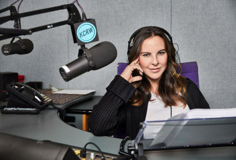 Kate del Castillo recording Celestial Blood