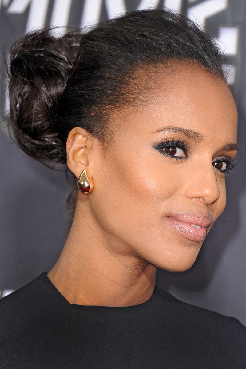 makeup and hair style kerry washington hair kerry washington carpet hairstyles 5269